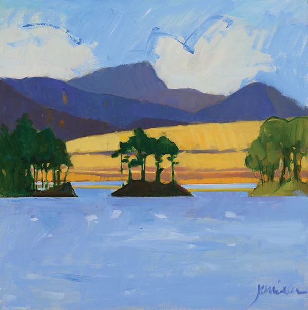 painting of Loch Ossian